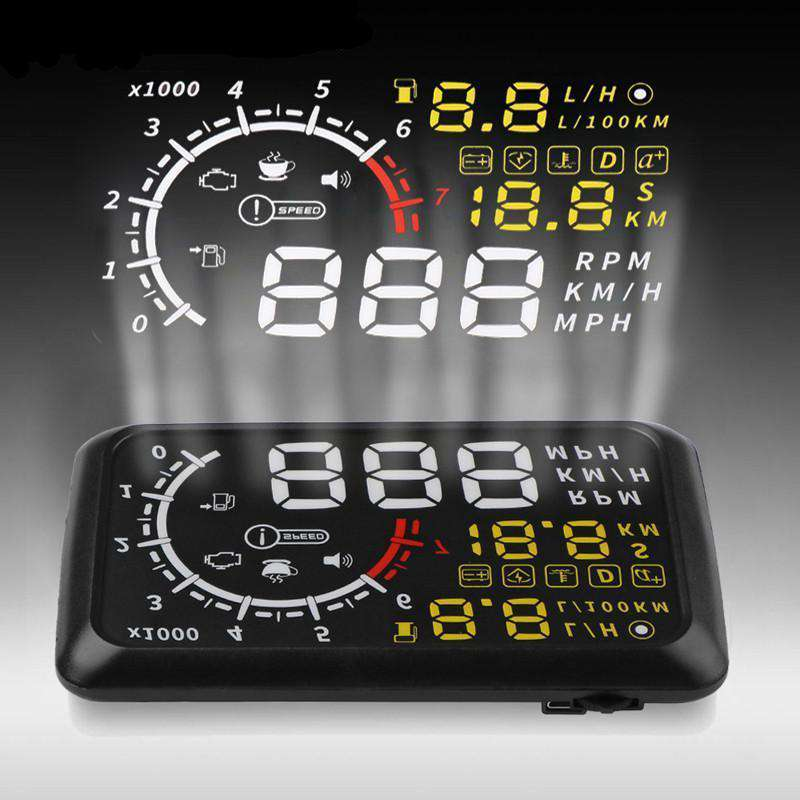 "Advanced 5.5"" Head-Up Display OBDII - Cadille"