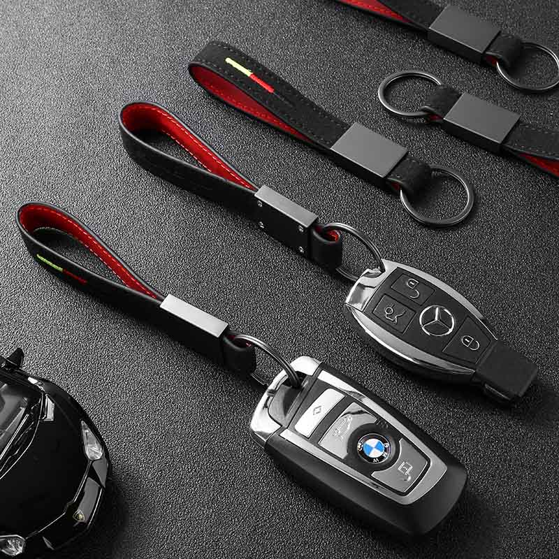 Luxury AMG Leather Keychain - Cadille