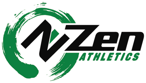 Zen Athletics Green Logo 10oz Middleweight Karate Uniform