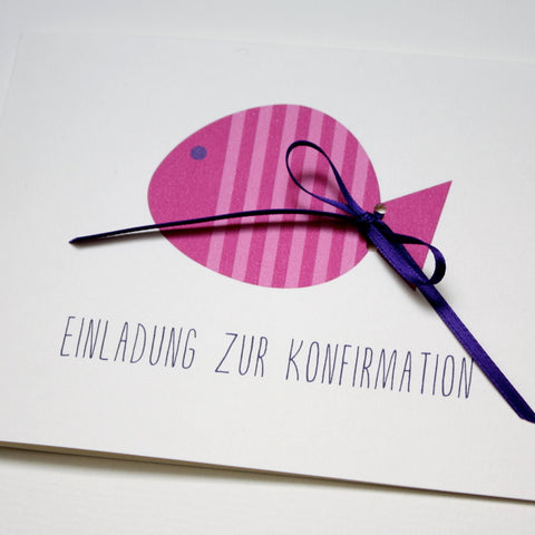 Kommunion / Konfirmation -  FISCH.PINK