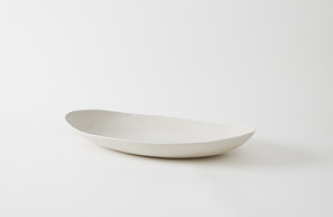 Christiane Perrochon Powder White Extra Large Oval Dish
