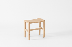 Michaël Verheyden Oak Table Stool