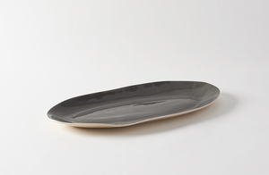 Brickett Davda Black Oval Platter