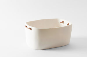 Tina Frey Double White Bucket