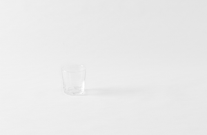 Il Buco Vita Clear Mouth Blown Glass Tumblers