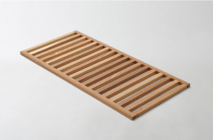 MARCH Worktable Accessory Wood Slatted Shelf