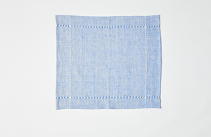 Blue Pulled Napkin