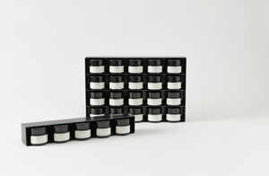 MARCH Pantry Black Steel Spice Rack with Spices