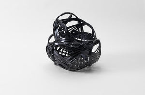 Large Black Japanese Basket