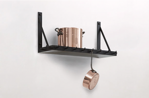 MARCH Pot Rack with Shelf