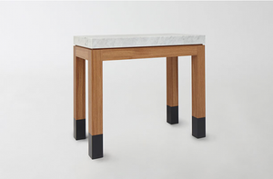 MARCH Marble Parsons Table by Union Studio