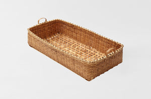 MARCH Black Ash Natural Worktable Accessory Basket
