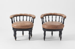 Napoleon III Chairs Set of Two