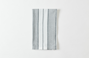 French Navy Stripe Dishtowel