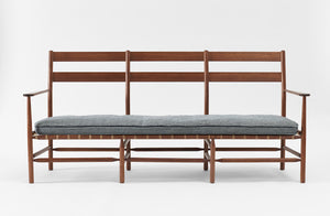 Brian Persico 72-Inch Windham Sofa in Walnut