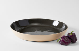 Brickett Davda Black Extra Large Low Bowl