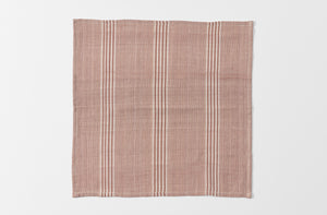 Brown and Off-White Stripe Napkin
