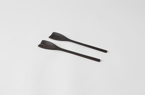 John Pawson Ebony Salad Servers