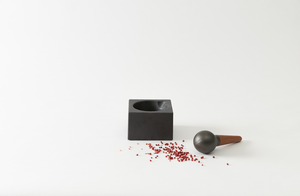 Skeppshult Cube Mortar and Pestle
