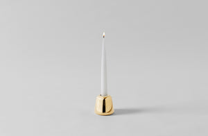 Jasper Morrison Holocene Brass Candle Holder