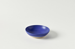 Christiane Perrochon Blue Violet Low Bowl