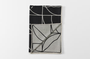 Sol LeWitt Lines and Arcs Throw Blanket