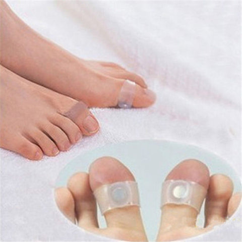Image of 2pcs/pair Magnetic Toe Rings for Fat Loss
