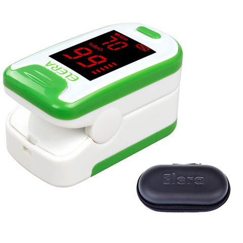Elera Finger Pulse Oximeter - Blood Saturation Oxygen Monitor