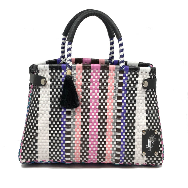 Nero-Rosa Cesto Bag