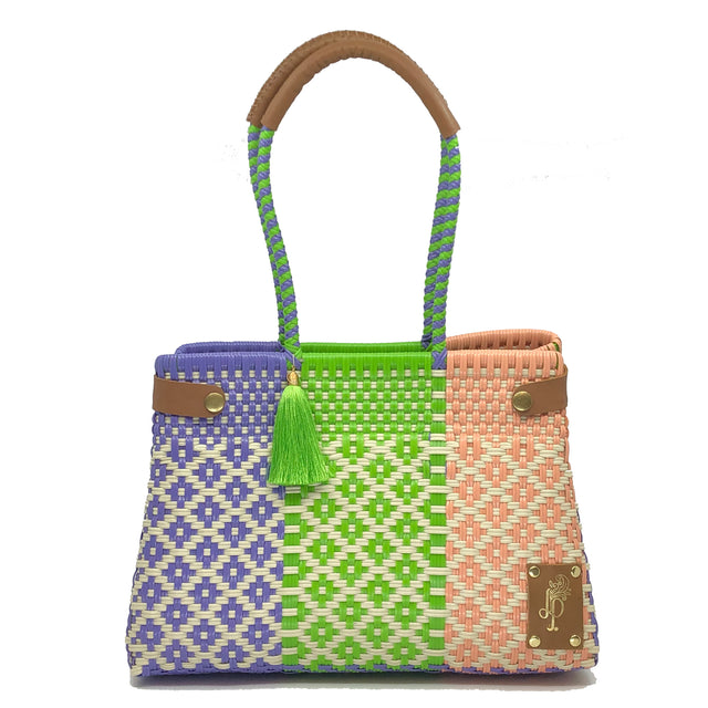 Arcobaleno Cesto Shoulder Bag