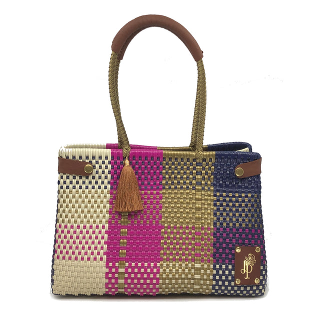 Multicolore Cesto Shoulder Bag