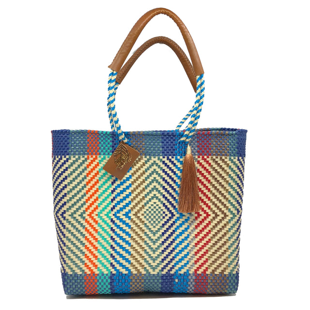 Arcobaleno Shoulder Tote Bag