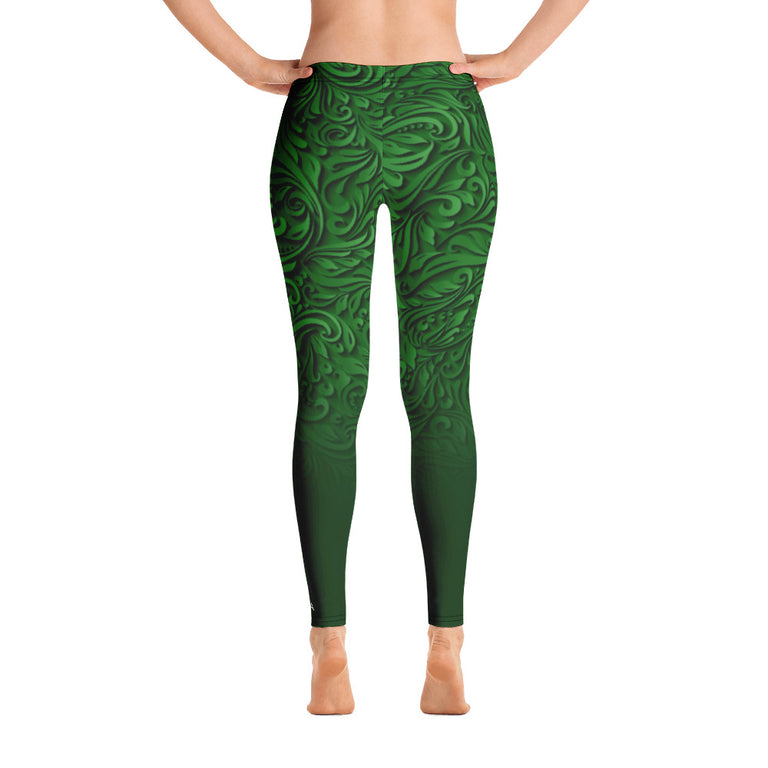 Baffi Verde Leggings