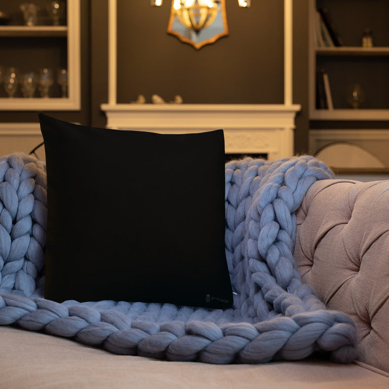 Baffi Nero Premium Pillow