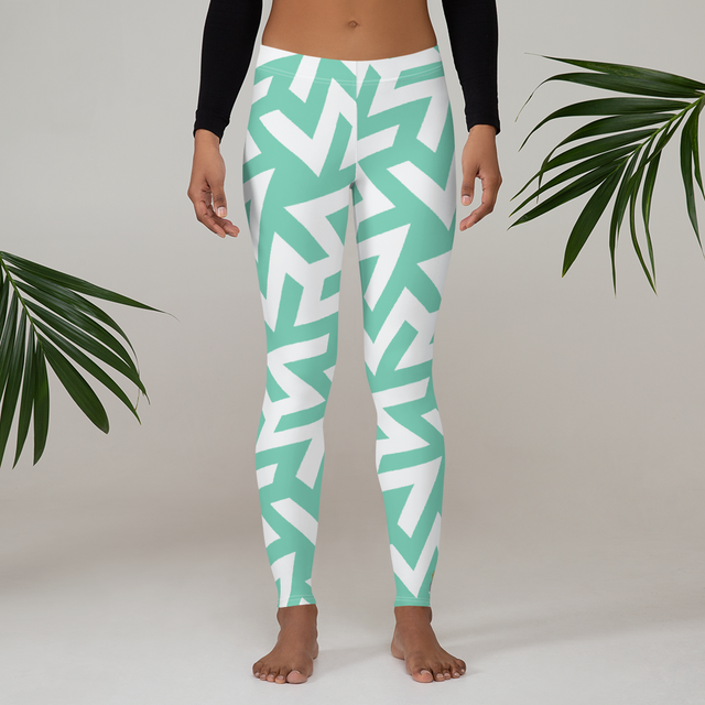 Musivo Turchese Leggings