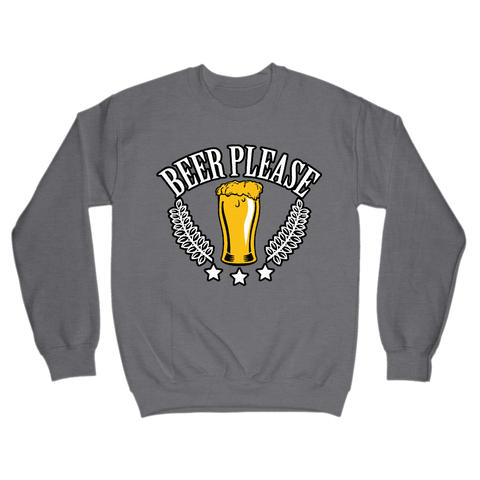 Image of Beer Please Sweatshirt