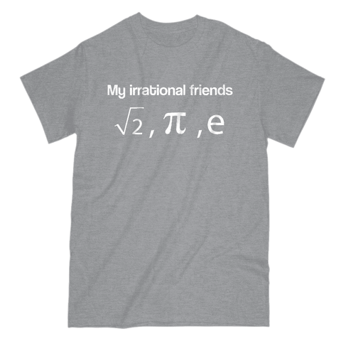 Image of My Irrational Friends Men's T-Shirt