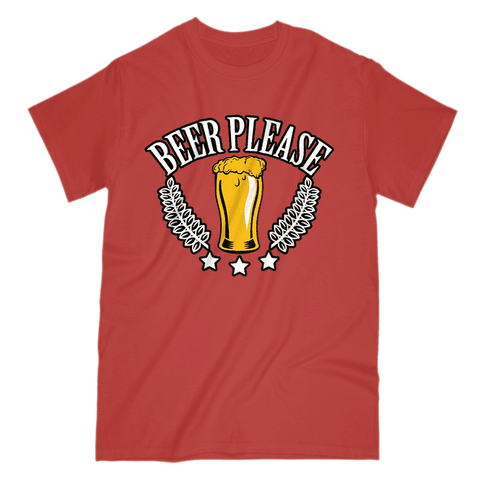 Image of Beer Please Men's T-Shirt