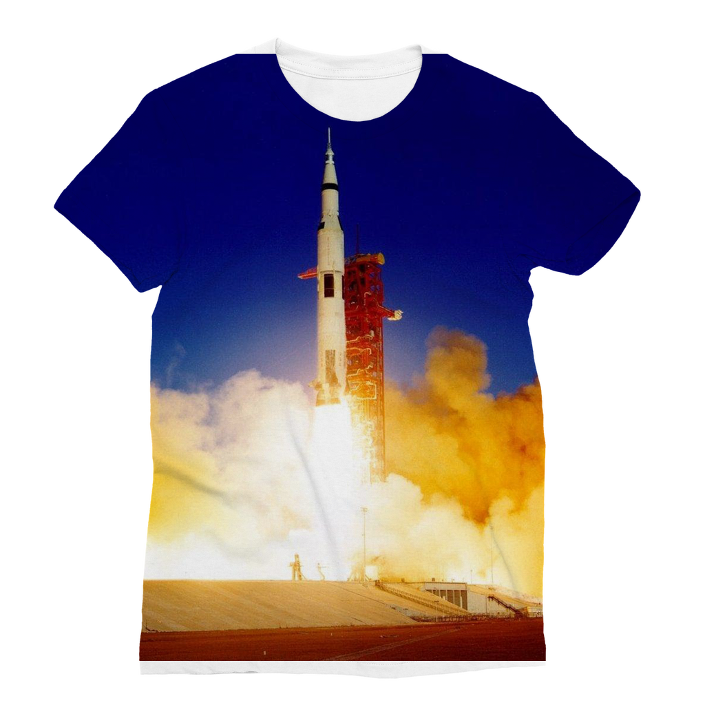 Apollo 8 Launch Women's T-Shirt