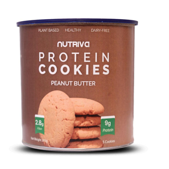 Nutriva Protein Cookies Peanut Butter
