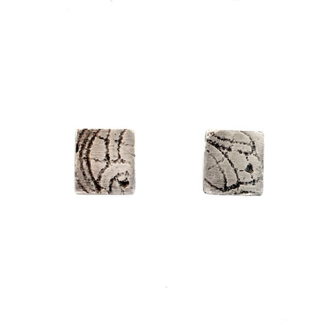 Lace Impression Studs - Medium