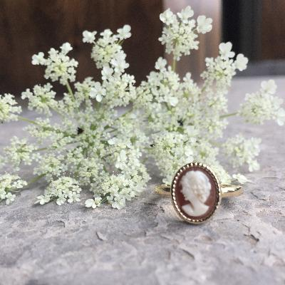 Custom Vintage Cameo Rings
