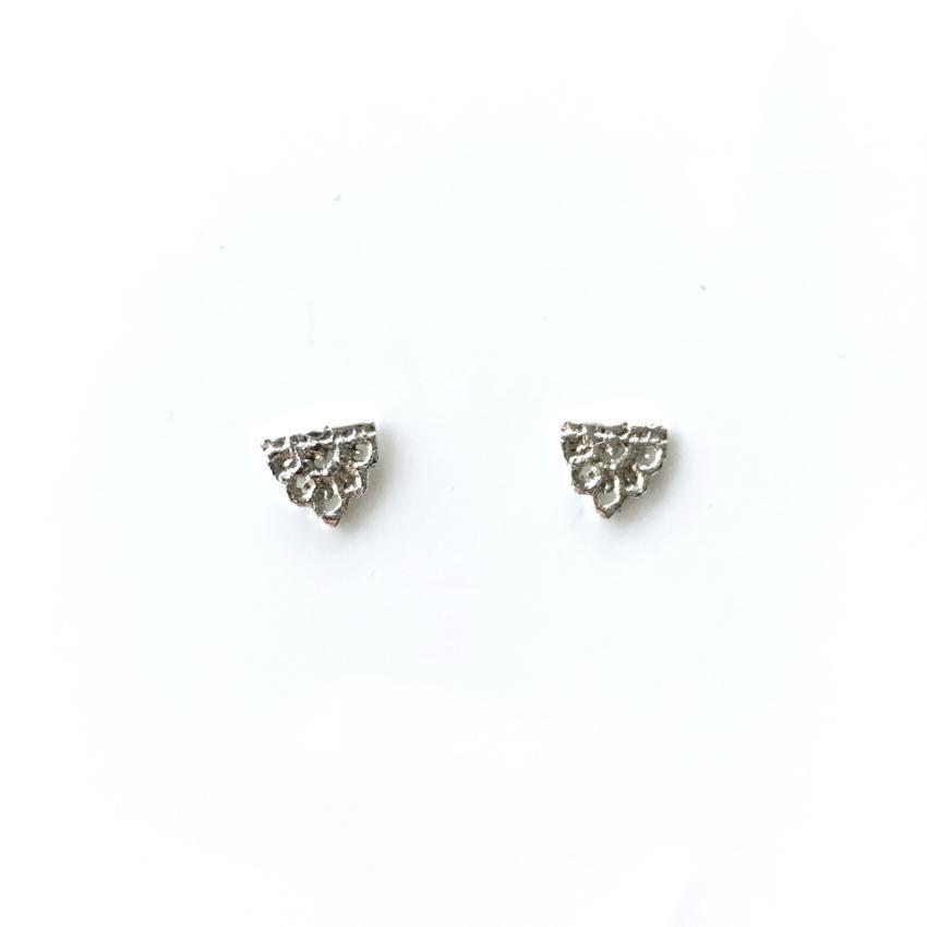 Guipure Lace Studs
