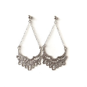 Perlée Stud Chandelier Earrings