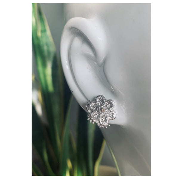 Flower Lace Studs