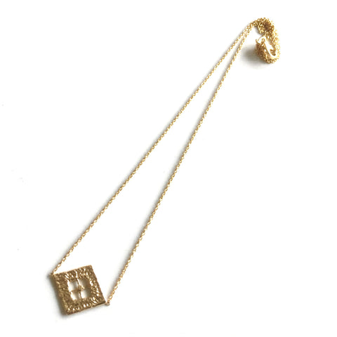 14K Yellow Gold Miracourt Pendant