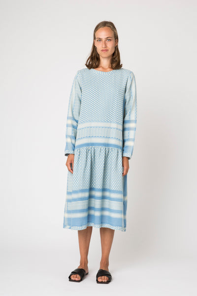 Josefine Midi Dress, Sky