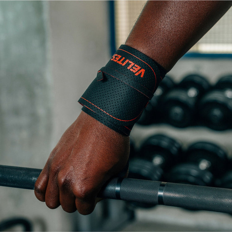 Quad Carbon Hand Grips - Core Wrist Wraps Pack