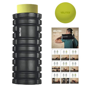 Kit Mobility I lacrosse ball and foam roller pack I stretch muscles