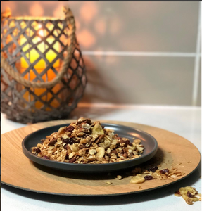 Cinnamon Molasses Granola